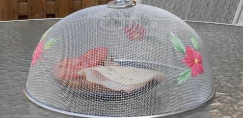 Abdeckhaube zum Schutz vor Insekten