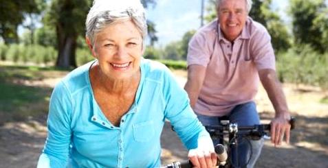 Radfahren fördert die Durchblutung bei Arthrose