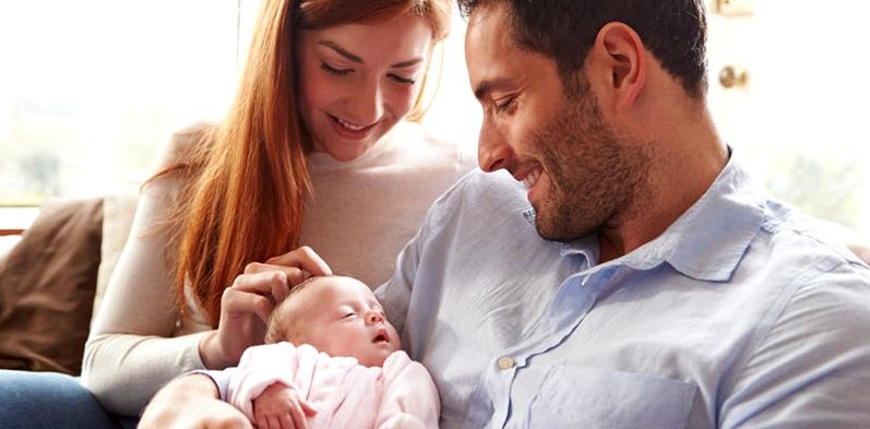 Die ersten Tage mit Baby als frischgebackene Familie