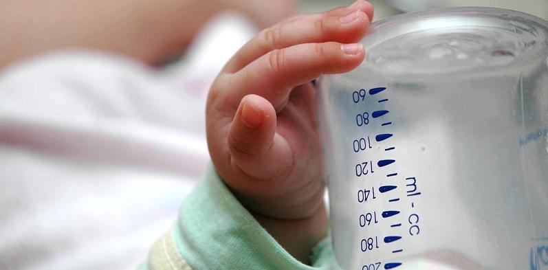 Die ersten Tage mit Baby - wieviel trinken?