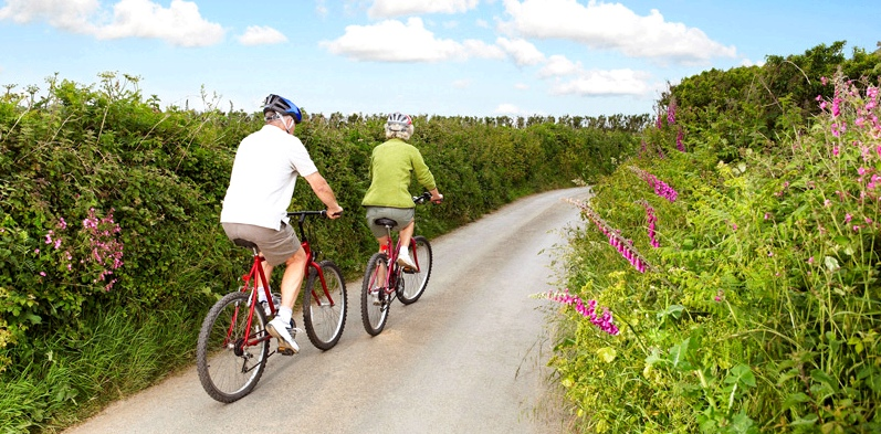 Radfahren gegen Gelenkschmerzen
