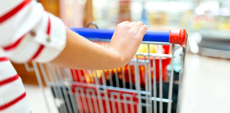 Keime am Einkaufswagen