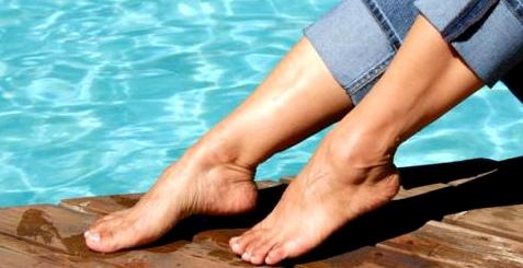 Im Schwimmbad lauern Pilzporen