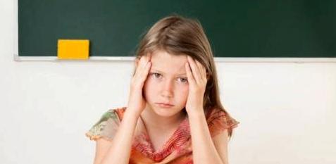 Depression durch Druck in der Schule