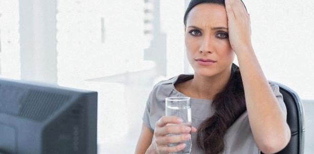 Krank fühlen - durstig sein