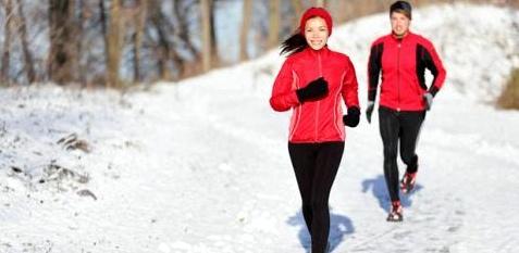 Sport ist auch im Winter gesund