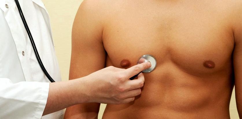 Abhören Brustkorb