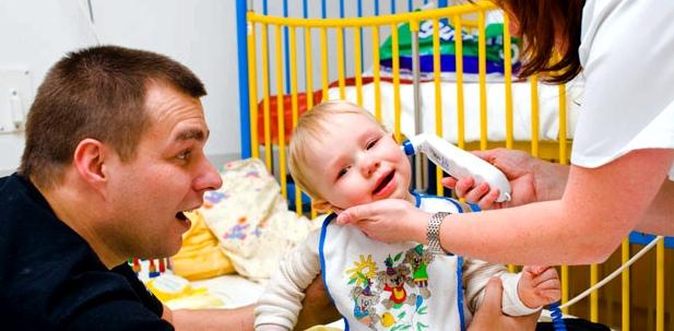 Fieberkrämpfe bei Kindern sind meistens harmlos