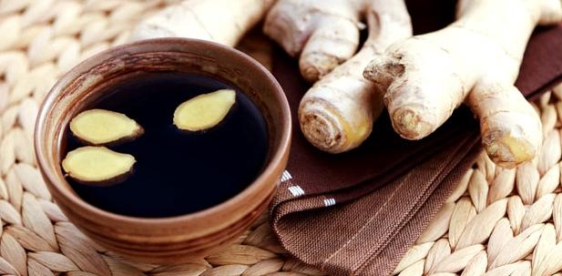 Ingwer Tee enthält ätherische Öle