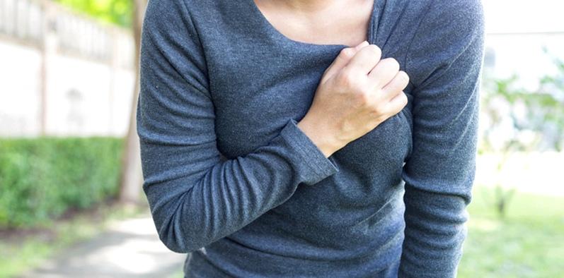Brustschmerzen können Anzeichen für Hirninfarkt sein