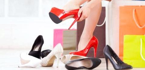 falsche Schuhe kaufen