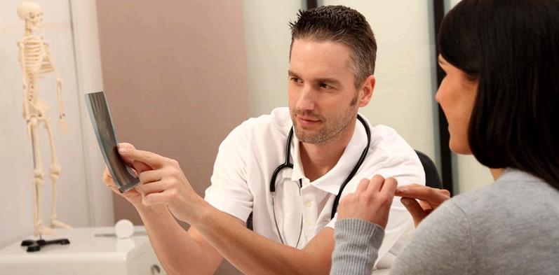 Röntgenbild zur Reizhusten-Diagnose