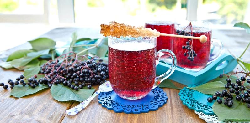 Holunderblüten-Tee