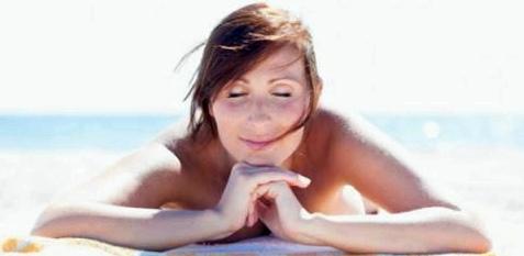 Der Körper braucht Sonne zum leben