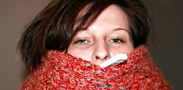 Kalte und heiße Getränke, verfälschen Messung bei Fieber