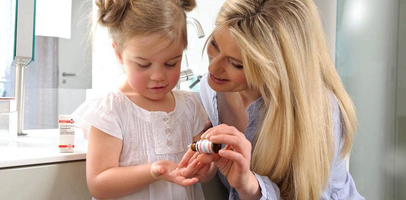 Homöpathie Kinder Globuli verabreichen