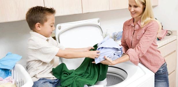 Wäschewaschen, die mit Impedigo-infizierter Haut in Berührung kam: wichtig, um Ansteckung zu vermeiden