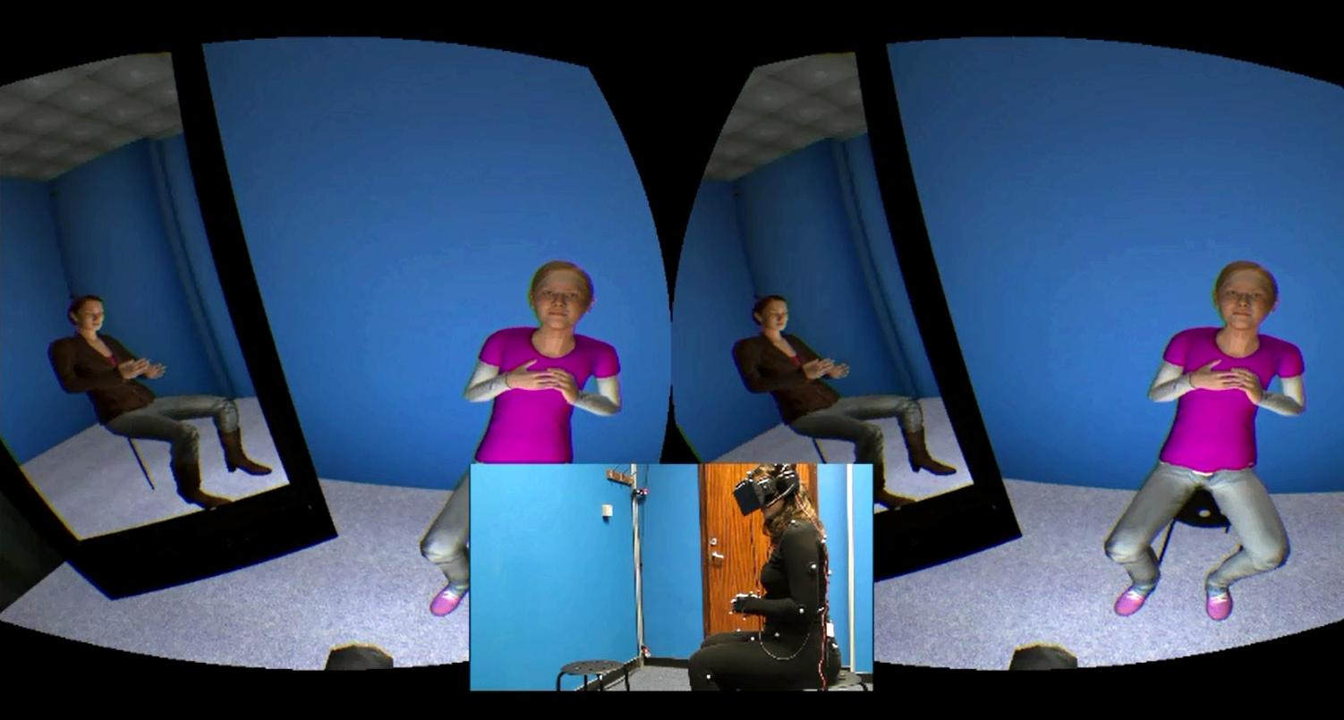 Virtuelle Therapie mit Avatar