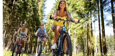 Radfahren gegen Cellulite