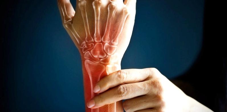Handgelenksknochen