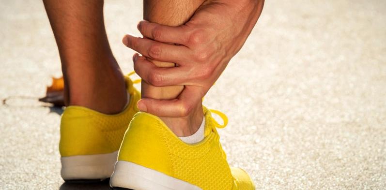 Schmerzende Fußgelenke