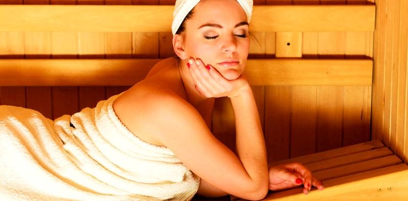 Mit Sauna Verspannungen vorbeugen