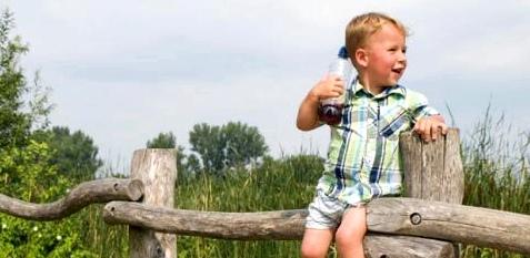 Kinder leiden unter Dehydrierung