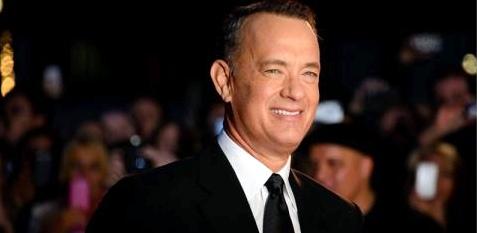 Der Schauspieler Tom Hanks