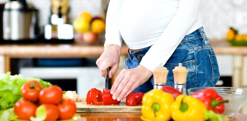 Gesunde Ernährung während Schwangerschaft