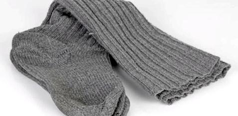 Socken getrennt von der restlichen Wäsche reinigen