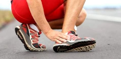 Verstauchung ist häufige Sportverletzung