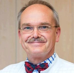 Prof. Dr. med. Thomas Frieling, Leiter der Medizinischen Klinik II der HELIOS-Kliniken, Krefeld