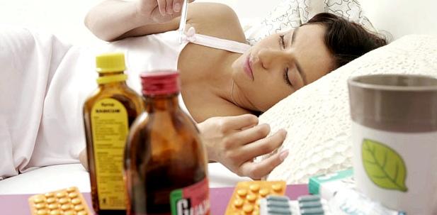 Fieber-Ursache grippaler Infekt