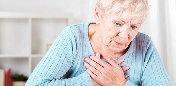 Sodbrennen-Symptome Schluckbeschwerden und Schmerzen im Rachenraum