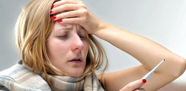 Kopfschmerzen bei Fieber