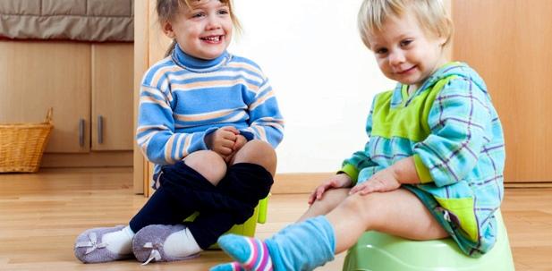 Kinder müssen erst trainieren, nicht mehr in die Windel sondern ins Töpfchen zu machen