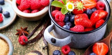 Beeren sind nicht nur gesund, sondern auch lecker