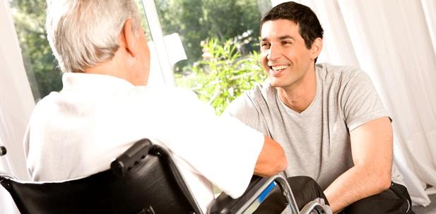 Betreuung oder Pflege zu Hause - Vertrauen zwischen Betreuer und Betreutem ist wichtig